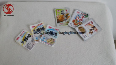 China Full Color Printed Vacuum Seal Storage Bags for Snacks / Meat Packaging Customized supplier