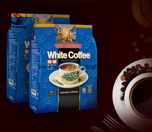 China Pillow Pack Coffee Coffee Bean Storage Vacuum Packaging Bag With Valve Food Grade supplier