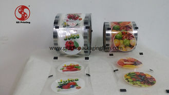 China Laminated Printed Heat Sealing Plastic Sheeting For Paper And Plastic Cups supplier