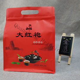 China Food Grade Material Stand Up Zip Bags , Gravure Printing Stand Up Pouch With Handle supplier