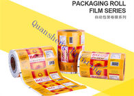 China Food Grade Plastic Lamination Printed Packaging Film For Small Tea Bags / Foods / Drinks company