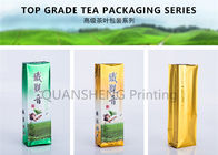 Heat Sealable Custom Printed Coffee Bags , Valve Sealed Coffee Bags Square Bottom Standing Up Type