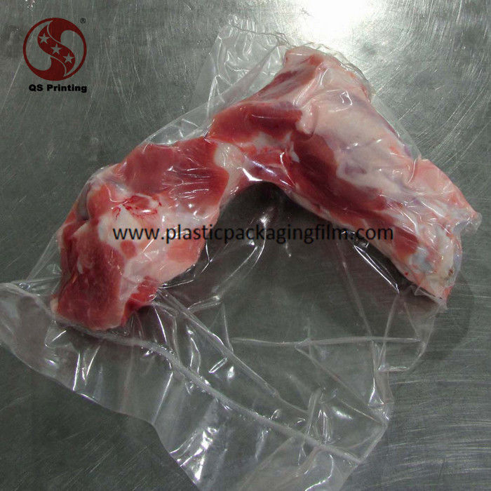 China Clear Heat Sealed Food Grade Vacuum Seal Storage Bags for Frozen Meat with Bones supplier & Clear Heat Sealed Food Grade Vacuum Seal Storage Bags for Frozen ...