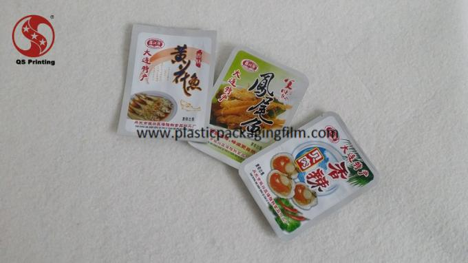 Full Color Printed Vacuum Seal Storage Bags for Snacks / Meat Packaging Customized