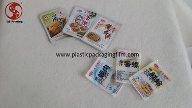 China Heat Seal Snack Food Packaging Bags , Small Sample Custom Printed Food Safe Bags factory