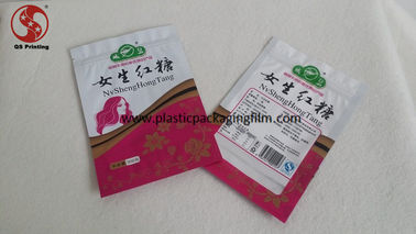 China Food Grade Zipper Storage Bags , Moisture Proof Resealable Printed Food Bags distributor