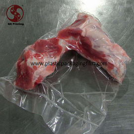 China Clear Heat Sealed Food Grade Vacuum Seal Storage Bags for Frozen Meat with Bones distributor