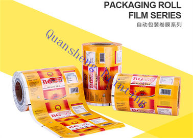 China Food Grade Plastic Lamination Printed Packaging Film For Small Tea Bags / Foods / Drinks distributor