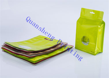 China Waterproof Zipper Storage Bags For Dried Fruits / Nuts / Snacks Packaging factory