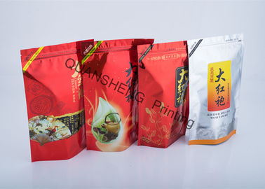 China Food Grade PE Liner Flexible Packaging Stand Up Pouch Bags For Solid / Liquid Foods distributor
